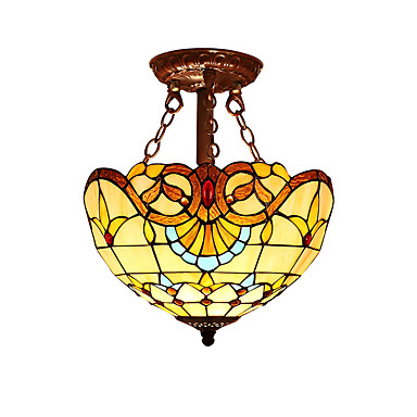 2-Light Takplafond Omgivelseslys Andre Glass Glass LED, designere 110-120V / 220-240V Pære ikke Inkludert / E26 / E27