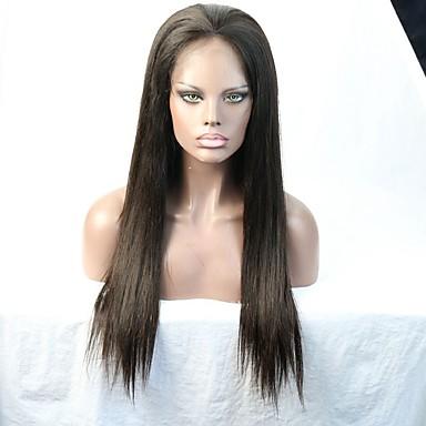 Kvinder Blondeparykker af menneskehår Menneskehår Helblonde Blonde Front Helblonder uden lim Halvblonder uden lim 130% 150% Massefylde