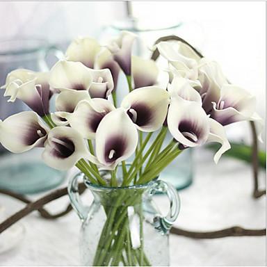 Flores artificiais 5 Ramo Estilo Moderno Lírios Flor de Mesa