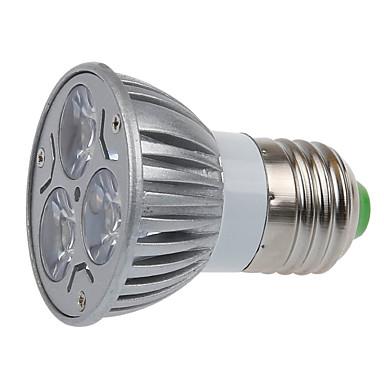 e26 / e27 led spotlight mr16 3 smd 250lm varm hvid 2700k dekorative ac 220-240v