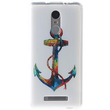 hoesje Voor Xiaomi Mi hoesje Patroon Achterkant Anker Zacht TPU voor Xiaomi Redmi Note 3