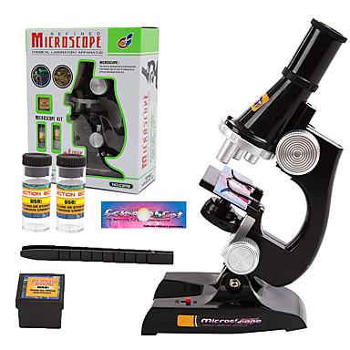 Microscópio Brinquedo Educativo Plástico Para Meninas Crianças Dom 1pcs