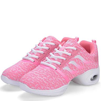 Sapatos de Dança(Preto / Rosa) -Feminino-Não Personalizável-Moderna