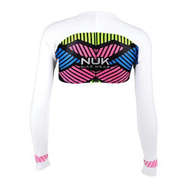 Nuckily Dame T-skjorte til jogging Langermet Ultraviolet Motstandsdyktig, Pustende, Solkrem Topper til Camping & Fjellvandring / Fisking