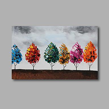 Håndmalte Abstrakte Landskap olje malerier,Moderne Et Panel Lerret Hang malte oljemaleri For Hjem Dekor