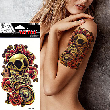 Tatoeagestickers Overige Non Toxic Waterproof Dames Volwassene Tijdelijke tatoeage Tijdelijke tatoeages