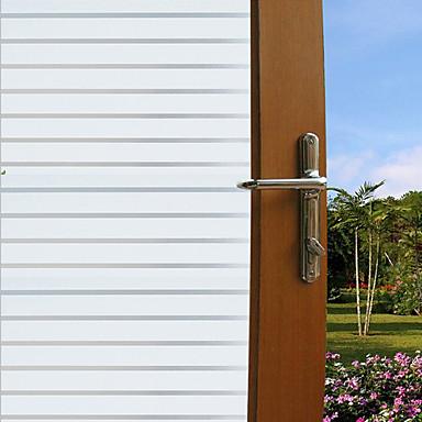 Bomen/bladeren Modern Raamfolie,PVC/Vinyl Materiaal raamdecoratie