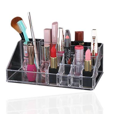 Acryl kosmetische Veranstalter klaren Make-up Schmuck kosmetischer Speicher Display-Box Kosmetik-Halter-Organisator-Kasten