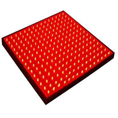 700lm E26 / E27 Voksende lysarmatur Roterbar 225 LED Perler Højeffekts-LED Dekorativ Rød 220-240V