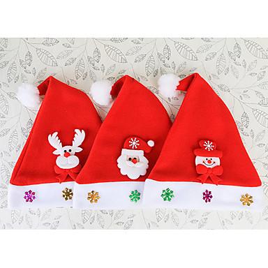 Kerstmis Feestaccessoires hatut / Fotohokje rekwisieten Geweven stof Klassiek Thema / rustieke Theme / Piramide