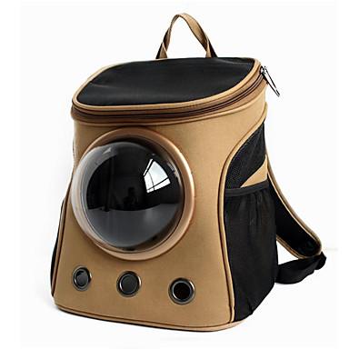 Kat Hond Dragers & Reistassen Astronaut Capsule Carrier Huisdieren Dragers draagbaar Ademend Effen Khaki