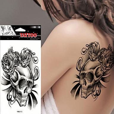 Tatoveringsklistermærker Andre Ikke Giftig Vandtæt Dame Herre Voksen Teenager Flash tatovering Midlertidige Tatoveringer