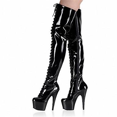 05277132 Eté Soirée Plateau Gris Automne Chaussures Verni Femme amp; Rivet Evénement club Noir Lumineuses Mode Rouge de Talon la Chaussures Aiguille Cuir à Hiver Bottes Chaussures Bottes gAwFwxqtU