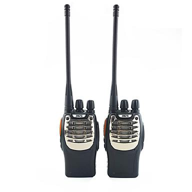 365 Walkie-talkie Håndholdt Programmeringskabel Nød Alarm Programmerbar med datasoftware Lader og adapter VOX Kryptering Skanning av ut