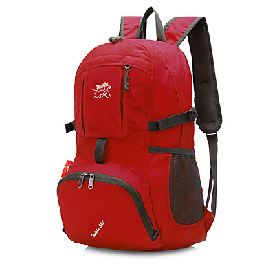 35 L mochila Mochila para Excursão Acampar e Caminhar Viajar Secagem Rápida Vestível Resistente ao Choque Multifuncional