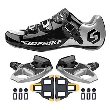 BOODUN® Sko til landevejscykling Cykelsko Sneakers Unisex Dæmpning Ultra Lys (UL) Vej Cykel udendørs Klassisk Cykling / Cykel