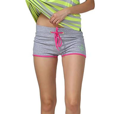 Mulheres Shorts de Corrida Secagem Rápida Respirável Compressão Confortável Shorts largos Shorts para Ioga Exercício e Atividade Física