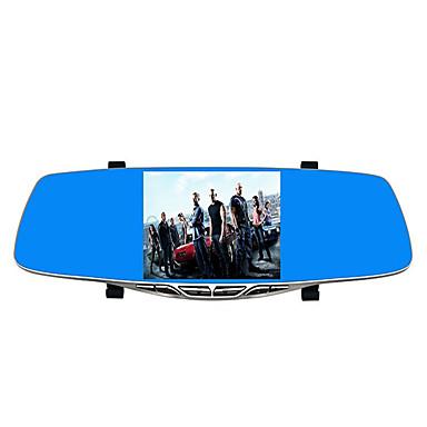 dual lens 1080p high definition nachtzicht spiegel met afbeelding backing rijden recorder