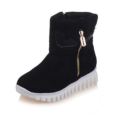 Støvler-laklæder Kunstlæder-Plateau Combat-støvler Originale Cowboystøvler Snowboots Ankelstøvler Ridestøvler Modestøvler