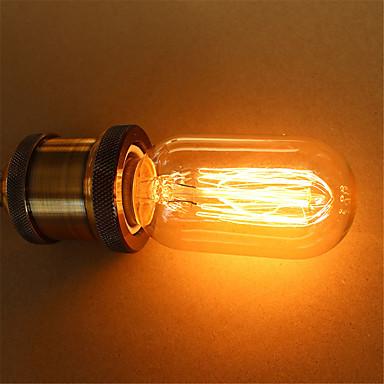 t45 40w E27 lâmpadas de Edison do vintage lâmpadas incandescentes (AC220-240V)