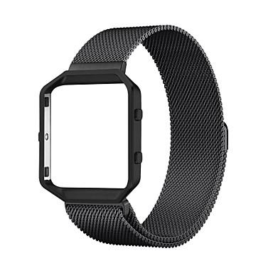 Klokkerem til Fitbit Blaze Fitbit Milanesisk rem Rustfritt stål Håndleddsrem
