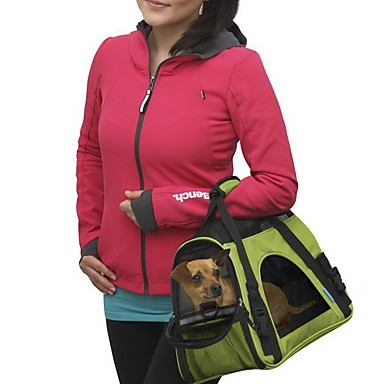 Kat Hund Kufferter & Rejse Rygsække Skuldertaske Kæledyr Transportvirksomheder Bærbar Åndbart Ensfarvet Gul Rød Grøn Blå Lys pink
