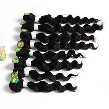 ブラジリアンヘア ルーズウェーブ 人間の髪織り 1個 1個 0.2
