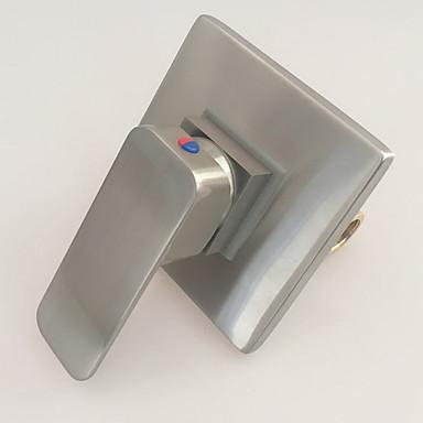 Grifo de ducha - Moderno Níquel Cepillado Solo ducha Válvula Cerámica