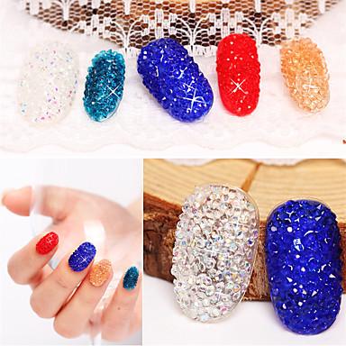 500 pcs glitter / Mode Daglig Nail Art Design / Sten