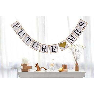Bruiloft / Verjaardag / Verloving Parel Papier Bruiloftsdecoraties Bloemen Thema / Vintage Theme / rustieke Theme Lente / Zomer / Herfst