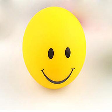 hymy kasvot yövalo muuttuvat värit vilkkuva led-lamppu