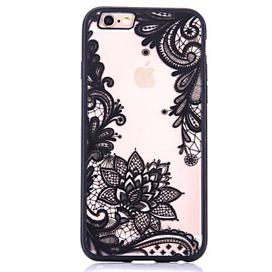 Capinha Para Apple iPhone 7 Plus iPhone 7 Estampada Capa traseira Flor Rígida Acrílico para iPhone 7 Plus iPhone 7 iPhone 6s Plus iPhone