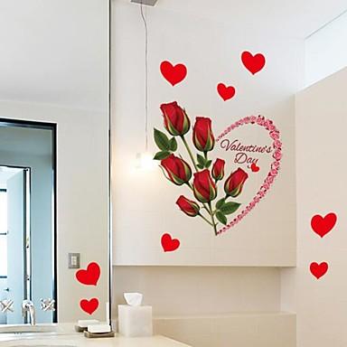 Botânico Adesivos de Parede Autocolantes de Aviões para Parede Autocolantes de Parede Decorativos Decoração para casa Decalque Parede