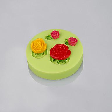 Ferramentas bakeware Silicone Amiga-do-Ambiente / Anti-Aderente / Cabos Bolo / Biscoito / Cupcake Ferramenta de pastelaria