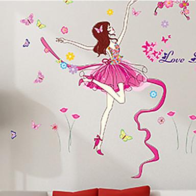 Dieren / Botanisch / Stilleven Wall Stickers Vliegtuig Muurstickers Decoratieve Muurstickers,PVC Materiaal Verwijderbaar / Verstelbaar