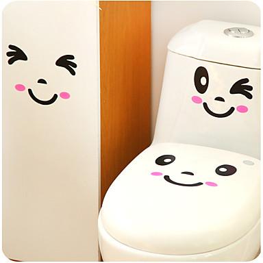 Haus eine Reihe von kreativen Persönlichkeit Möblierung der Toilette Aufkleber