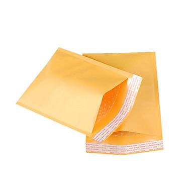 fire 38cm * 50cm 4 cm gul kraftpapir boble poser pr pakke