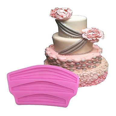 Cake Moulds Is Chokolade Pizza Tærte Cupcake Småkage Kage Brød Silikone Øko Venlig GDS Høj kvalitet 3D Bagning Værktøj Nonstick