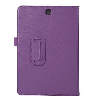 Hülle Für Samsung Galaxy / Tab A 9.7 Ganzkörper-Gehäuse / Tablet-Hüllen Solide Hart PU-Leder für