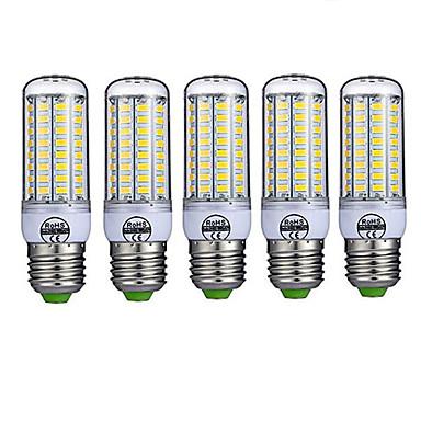 5 Stück 10W 980lm E26 / E27 LED Mais-Birnen T 72 LED-Perlen SMD 5730 Dekorativ Warmes Weiß Kühles Weiß 220-240V