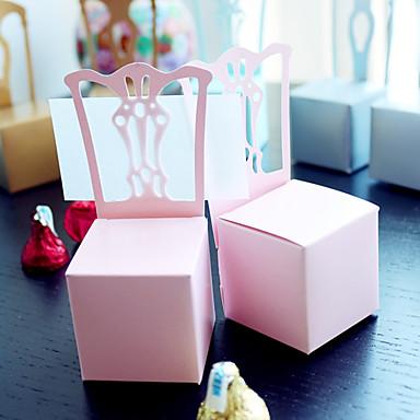 beter gifts® 12 teil / satz favor halter - quader papier geschenkboxen nicht personalisierte hochzeit dekoration
