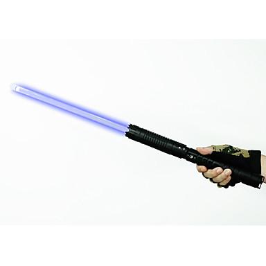 u`king ZQ-J88 azul ponteiro laser / set foco ajustável (5mW 445nm preto / prata)