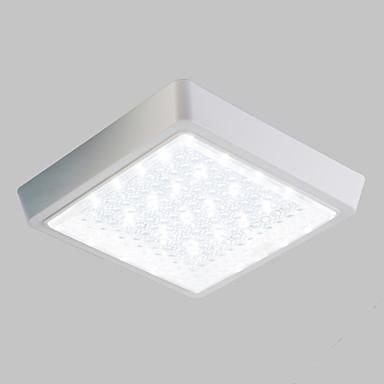 Montage du flux Lumière d'ambiance - LED, 220-240V, Blanc, Source lumineuse de LED incluse / 10-15㎡ / LED Intégré