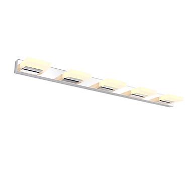 AC 100-240 15W LED Integrado Moderno/ Contemporáneo Plateado Característica for LED / Mini Estilo / Bombilla Incluida,Luz Ambiente