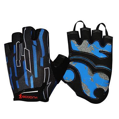 Activiteit/Sport Handschoenen Fietshandschoenen Sneldrogend Vochtdoorlaatbaarheid Ademend Slijtvast Schokbestendig Beschermend Vingerloos