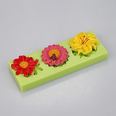 Herramientas para hornear Silicona Ecológica / Antiadherente / Asas Pastel / Galleta / Cupcake Moldes para pasteles