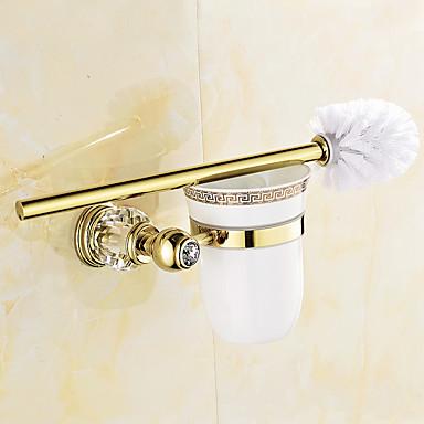 Soporte para Papel Higiénico Moderno Latón 1 pieza - Baño del hotel
