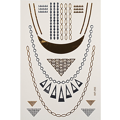 1 Tatoeagestickers Sieraden Series necklaces Flash Tattoo tijdelijke Tattoos