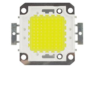 zdm diy 100w 8500-9500lm kald hvit 6000-6500k lys integrert ledemodul (dc33-35v 3a) gate lampe for å projisere lett gull tråd sveising av kobber brakett