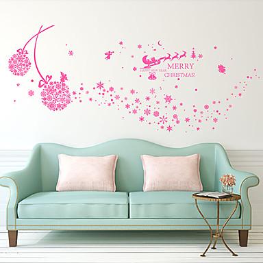Botanisch / Romantiek / Stilleven Wall Stickers Vliegtuig Muurstickers / 3D Muurstickers Decoratieve Muurstickers,PVC Materiaal